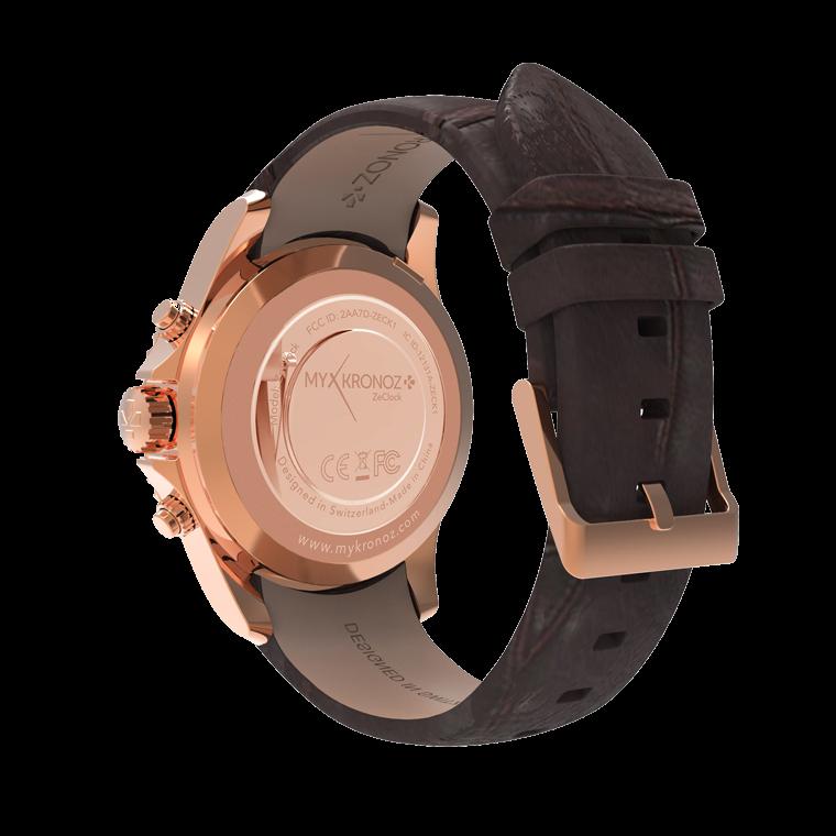 ZeClock - Premium - Élégante montre analogique avec mouvement à quartz - MyKronoz
