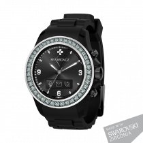 ZeClock - Swarovski Zirconia - Analog smartwatch with quartz movement - MyKronoz
