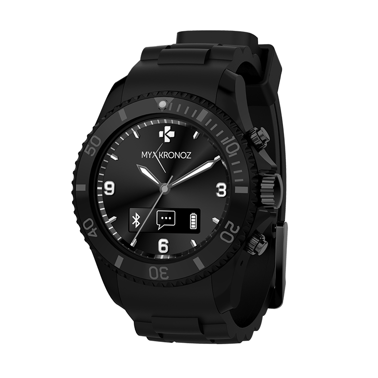 ZeClock - Analog smartwatch with quartz movement - MyKronoz