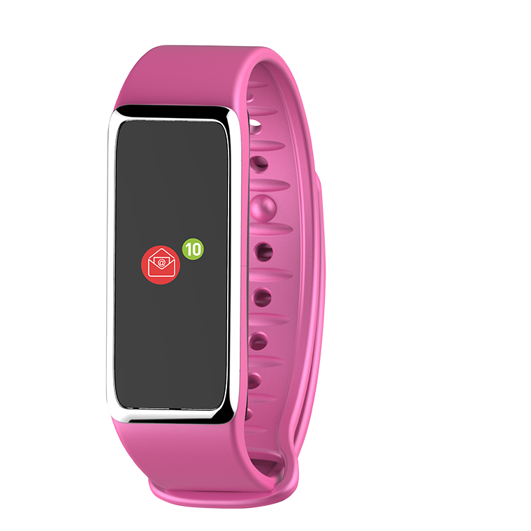 ZeFit3 HR - Activity tracker with color touchscreen & heart-rate monitor
