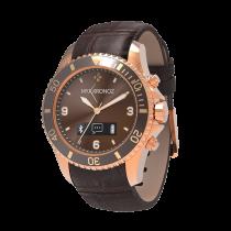 ZeClock - Premium - Analoge Smartwatch mit Quarz-Uhrwerk - MyKronoz