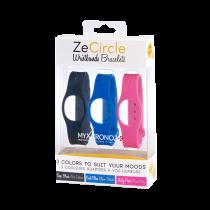 ZeCircle 三色表带套装  - 颜色天天换 - MyKronoz
