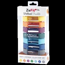 ZeFit<sup>2Pulse</sup> 七条装表带套装 - 颜色天天换 - MyKronoz