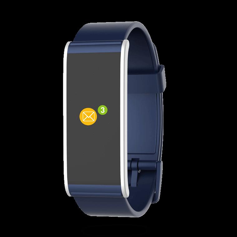 ZeFit4HR - Tracker d'activité avec capteur de rythme cardiaque - MyKronoz