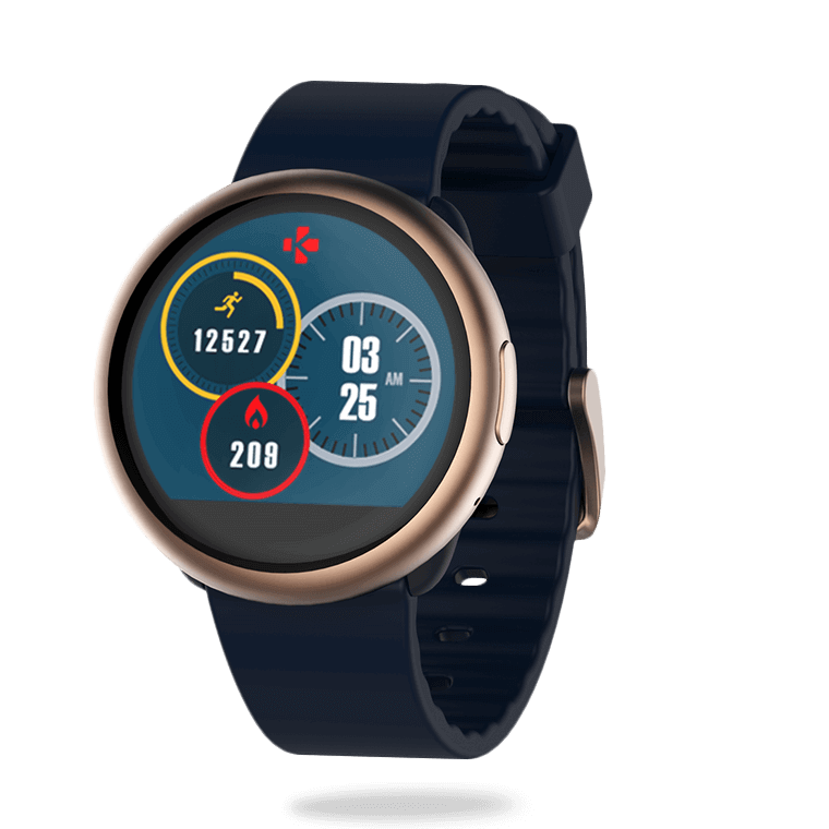 ZeRound2 - Montre connectée avec écran couleur tactile circulaire - MyKronoz