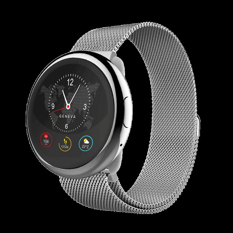 ZeRound2HR Elite - Montre connectée avec écran couleur tactile circulaire et capteur de rythme cardiaque - MyKronoz
