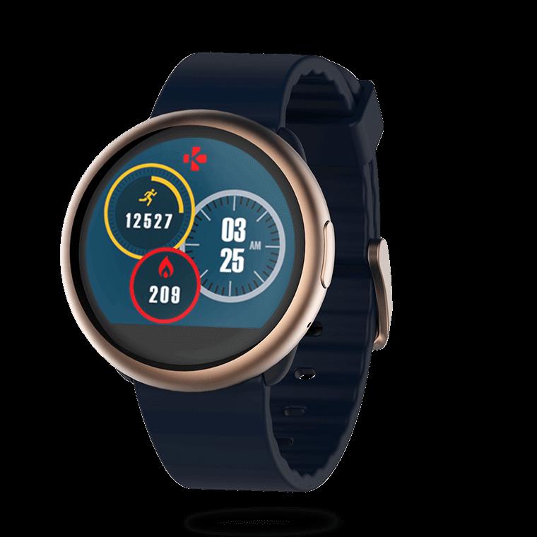 ZeRound2 - Smartwatch con schermo al tocco a colori circolare  - MyKronoz