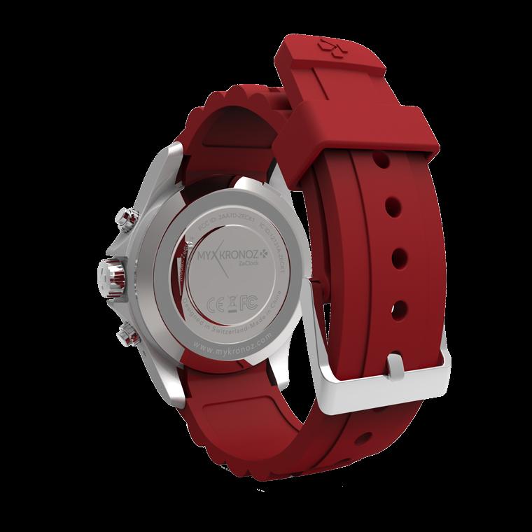 ZeClock - Analoge Smartwatch mit Quarz-Uhrwerk - MyKronoz