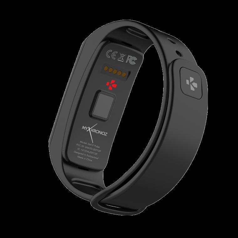 ZeFit2 Pulse - Aktivitätstracker mit Herzfrequenzmonitor - MyKronoz