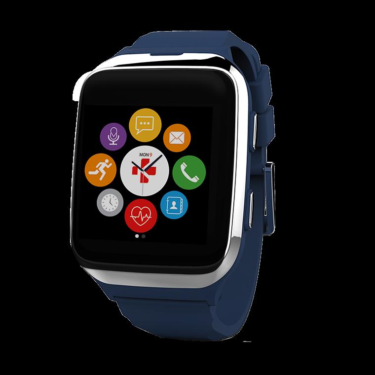 ZeSplash2 - Wasserdichte Smartwatch mit Aktivitätserfassung - MyKronoz