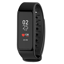 ZeFit3 HR - Activity tracker with color touchscreen & heart-rate monitor  - MyKronoz