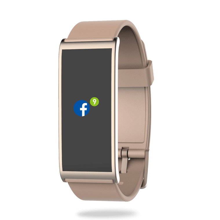 ZeFit4 - Activity tracker with smart notifications - MyKronoz