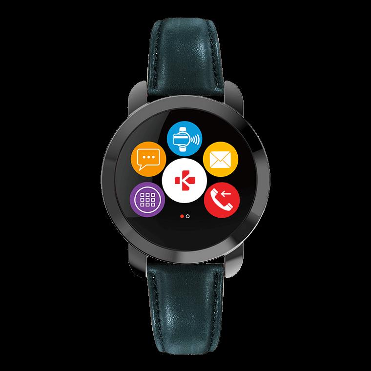 ZeCircle2 Premium - Elegant activity tracker with contactless payment* - MyKronoz