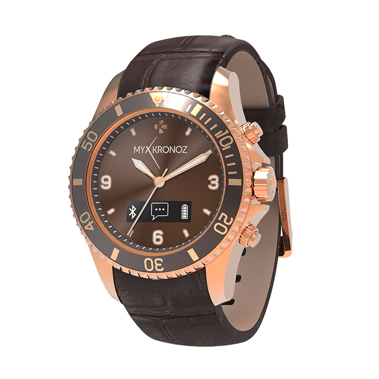 ZeClock - Premium - Analog smartwatch with quartz movement - MyKronoz
