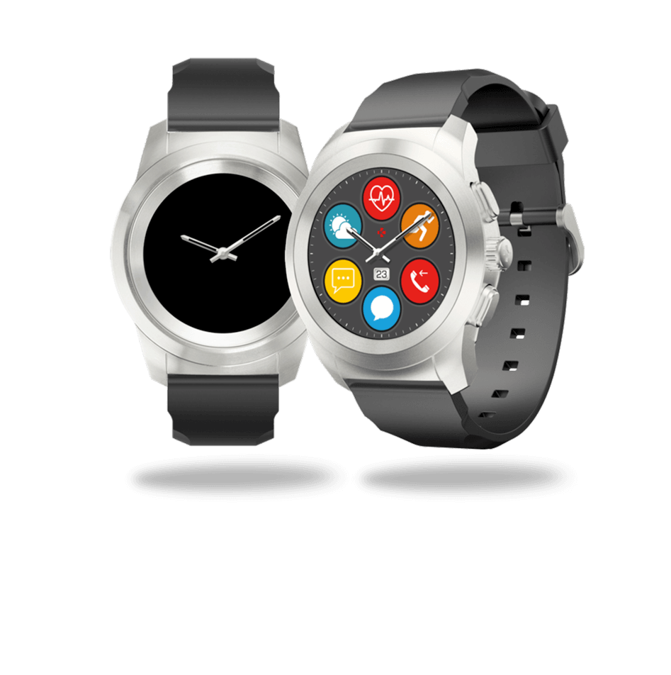 ZeTime smartwatch y modo de reloj