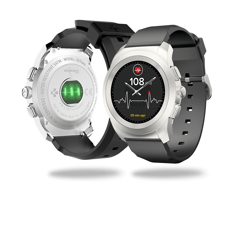 ZeTime heart rate monitor