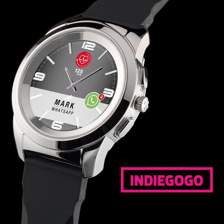 ZeTime, montre connectée hybride