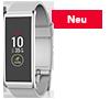Rechteckiger Activity Tracker mit farbigem Touchscreen und intelligenten Benachrichtigungen