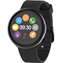 Smartwatch with color touchscreen and smart notifications