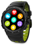 Multisport GPS Smartwatch具有时尚的设计和大猩猩玻璃